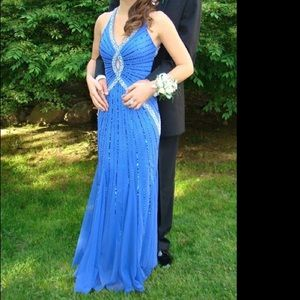 Prom dress with Beaded Design